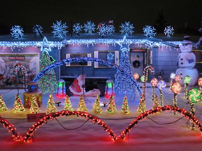 Cascade Christmas Lights