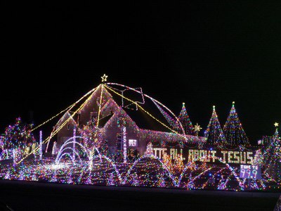 Prosper Christmas lights 2012