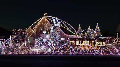 2016 Prosper Christmas display