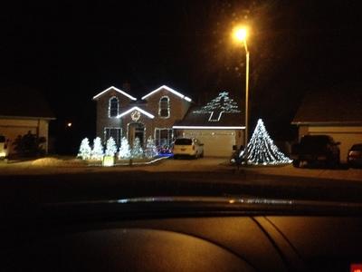 Spindler's Family  light show