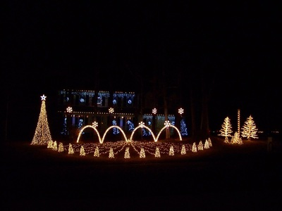 Burton Christmas Lights 2011