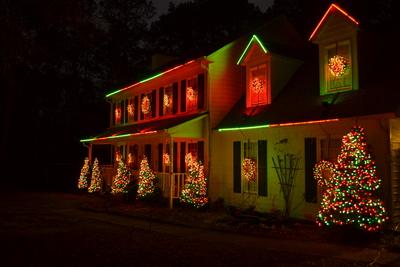 Burton Christmas Lights 2013