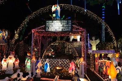 2014 Oakdale Christmas Display