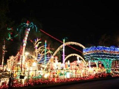 Oakdale Christmas Light Display