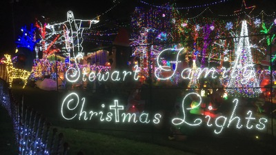 STEWART FAMILY CHRISTMAS LIGHT DISPLAY