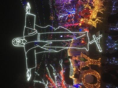 Stewart family Christmas lights