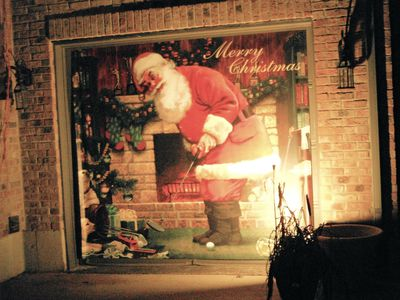 Putting Santa