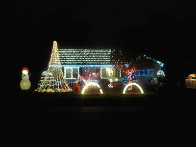 Howard Family Light Show