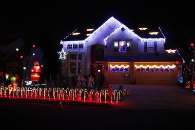 Lights at Lowe's Island