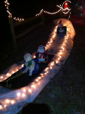 sledding characters