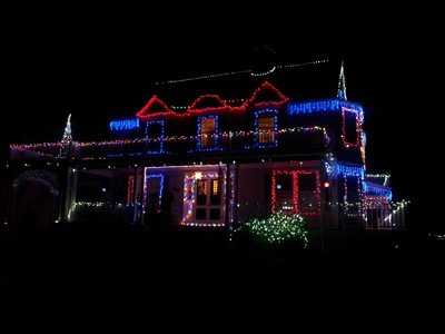 The Swain Christmas Mansion