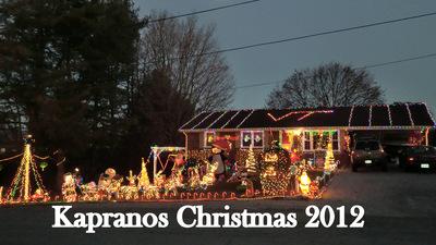 Kapranos Christmas 2012
