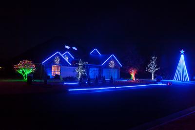 2012 Stone Christmas Lights