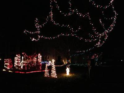 Dads Christmas Lights