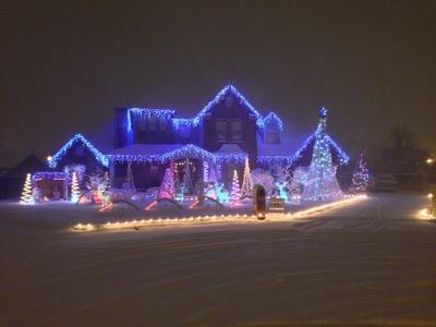 Christmas Night Snowfall