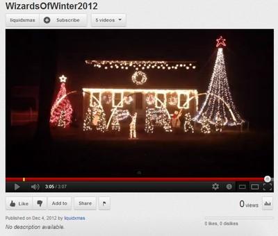 Windham Maine Christmas Lights