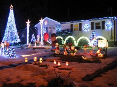 Rowland Christmas Light Display