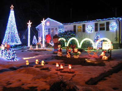 Rowland Christmas Light Display