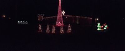Burleson Family Christmas Light Show