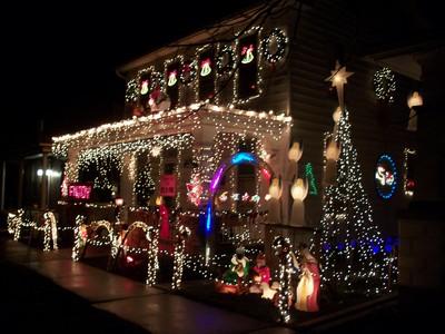 Moyer Christmas Display 2012