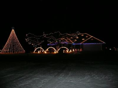 Hunka's Christmas light show
