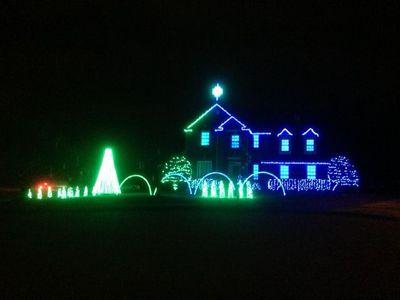 Green-Blue House
